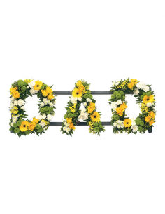 Floral Letters– Mixed Flowers