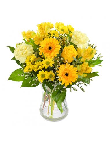 Seasonal Handtie – Yellow
