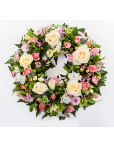 Traditional Floral Wreath