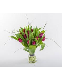 "I Love ""Purple"" Tulips"