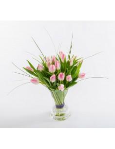 "I Love ""Pink"" Tulips"