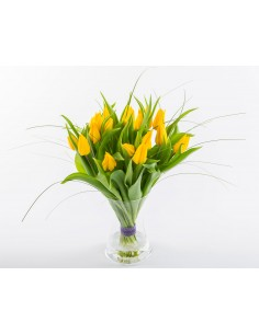 "I Love ""Yellow""  Tulips"
