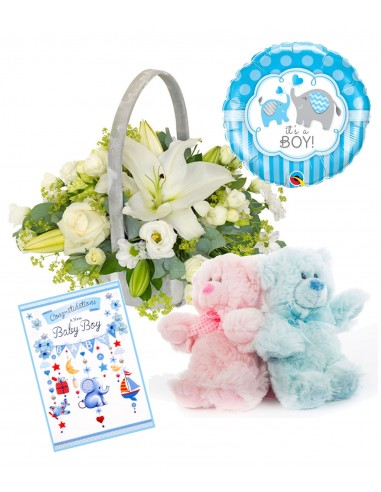 Welcome to the World Baby Boy - Gift Set