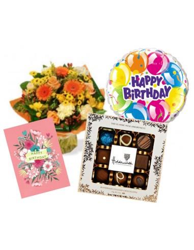 Happy Birthday Aqua Pack - Gift Set