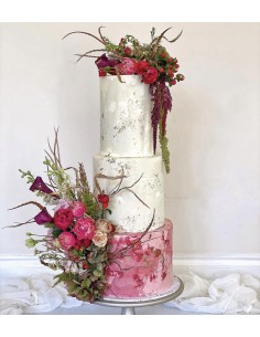 3 Tier Cake with Natural...